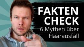 Faktencheck bei Haarausfall Irrtümern