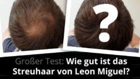 Leon Miguel Streuhaar im Test