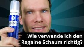 Regaine Schaum