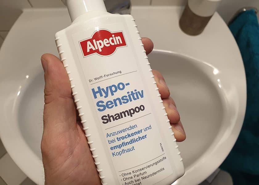 Shampoo trockene Kopfhaut - Alpecin hypo sensitive